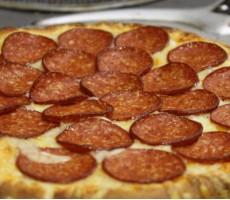 """Пицца """"Итальянская с острыми колбасками"""""""