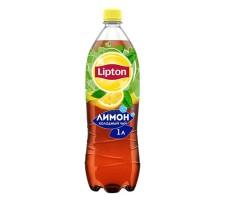 Холодный чай Липтон Черный с лимоном - 1 л.