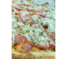 """Пицца """"Две колбасы с грибами"""""""